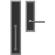 "Rocky Mountain Hardware<br />G133/E115 - Full Dummy Set - 3-1/2"" x 18"" Exterior with 3"" x 10"" Interior Designer Escutcheons"