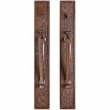 "Rocky Mountain Hardware<br />G135/G136 - Entry Mortise Lock Set - 3-1/2"" x 24"" Designer Escutcheons"