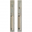 "Entry Mortise Lock Set - 2-3/4"" x 20"" Stepped Escutcheons"