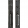 "Rocky Mountain Hardware<br />G30733/G30732 - Entry Mortise Lock Set - 3"" x 19"" Corbel Rectangular Escutcheons"