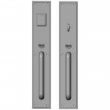 "Rocky Mountain Hardware<br />G320/G322 - Entry Mortise Lock Set - 3-1/2"" x 20"" Stepped Escutcheons"