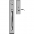 "Rocky Mountain Hardware<br />G681/E421 - Entry Mortise Lock Set - 3-1/2"" x 24"" Exterior with 3"" x 10"" Interior Rectangular Escutcheons"