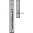 "Rocky Mountain Hardware<br />G681/E437 - Entry Mortise Lock Set - 3-1/2"" x 24"" Exterior with 2-1/2"" x 13"" Interior Rectangular Escutcheons"