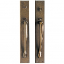 Rocky Mountain Hardware - Entry Mortise Lock Set - 3-1/2