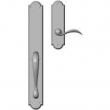 "Rocky Mountain Hardware<br />G763/E702 - Full Dummy Set - 2-3/4"" x 20"" Exterior with 2-1/2"" x 9"" Interior Arched Escutcheons"