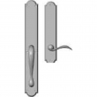 "Rocky Mountain Hardware<br />G763/E736 - Full Dummy Set - 2-3/4"" x 20"" with 2-1/2"" x 13"" Interior Arched Escutcheons"