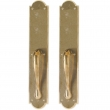 "Rocky Mountain Hardware<br />G771/G771 - Full Dummy Set - 3-1/2"" x 20"" Arched Escutcheons"