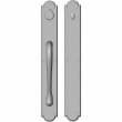 "Rocky Mountain Hardware<br />G781/G782 Grip one side - Push/Pull Dead Bolt - 3-1/2"" x 26"" Arched Escutcheons"