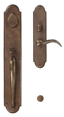 ARCHED SUITE GRIP X LEVER MORTISE ENTRYSETS