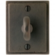 "Rocky Mountain Hardware<br />IP318 - Patio Dead Bolt - 2-1/2"" x 3-1/8"" Stepped Escutcheon"