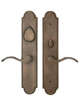 ARCHED SUITE LEVER X LEVER MORTISE ENTRYSETS
