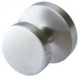 Linnea Stainless Steel<br />LK66R-PA - Passage LK66 Knobset with Round Rose