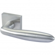 Linnea Stainless Steel<br />LL26S-PR - Privacy LL26 Leverset with Square Rose