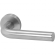 Linnea Stainless Steel<br />LL3R-PR - Privacy LL3 Leverset with Round Rose