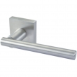 Linnea Stainless Steel<br />LL87S-PR - Privacy LL87 Leverset with Square Rose