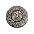 Rocky Mountain Hardware<br />8&quot; Diameter Left &amp; Right  - Sun - Moon Door Pull