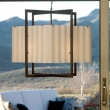 Rocky Mountain Hardware<br />C400CB-LED - Cube Chandelier with Corrugated Box and LED Lamps