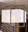 Rocky Mountain Hardware<br />C400FB-LED - Cube Chandelier with Flat Box and LED Lamps