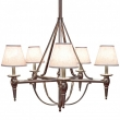 Five-Arm Towne Chandelier Standard