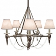Rocky Mountain Hardware<br />C500 - Five-Arm Towne Chandelier with Crystals