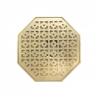 Rocky Mountain Hardware<br />Call for price  - 8&quot; octagonal floor drain