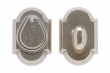Rocky Mountain Hardware<br />DB508 - ENTRY SINGLE CYLINDER DEAD BOLT - 2 1/2&quot; X 3 3/4&quot; ARCHED