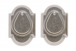 Rocky Mountain Hardware<br />DD504 - ENTRY DOUBLE CYLINDER DEAD BOLT - 2 1/2&quot; X 3 3/4&quot; ARCHED