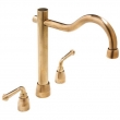 Rocky Mountain Hardware<br />DMF P700-P301 - Rocky Mountain Deck Mount Faucet with Arched P700 Spout