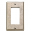 Rocky Mountain Hardware<br />DSP1 - ROCKY MOUNTAIN DECORA SWITCH &amp; RECEPTACLE COVER