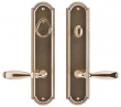 Rocky Mountain Hardware<br />E075/E063 - 3&quot; X 13&quot; ELLIS ESCUTCHEONS (5 1/2&quot; C-C) - ENTRY