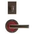 Rocky Mountain Hardware<br />E101/E101/IP214 - 3.5&quot; ROUND DESIGNER ESCUTCHEON - PATIO