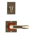 Rocky Mountain Hardware<br />E103/E103/IP214 - 3&quot; SQUARE DESIGNER ESCUTCHEON - PATIO