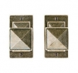 Rocky Mountain Hardware<br />E21005/E21005 Passage Mortise Lock - Mack Passage Mortise Set - 2 1/2&quot; x 4 1/2&quot;