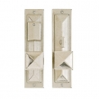 Rocky Mountain Hardware<br />E21058/E21057 Entry Mortise Lock - Mack Entry Set - 2 1/2&quot; x 10&quot;