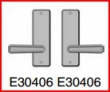 Rocky Mountain Hardware<br />E30406 / E30406 - Full Dummy 2 1/2&quot; x 8&quot; hammered escutcheon