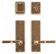 Rocky Mountain Hardware<br />E30406/E30406 W/DB30490 - Hammered Entry Set - 2 1/2&quot; x 8&quot;