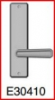 Rocky Mountain Hardware<br />E30410 - Single Dummy 2 1/2&quot; x 10&quot; hammered escutcheon