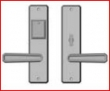 Rocky Mountain Hardware<br />E30412 / E30411 - Entry Dead Bolt/ Spring Latch 2 1/2&quot; x 10&quot; hammered escutcheon