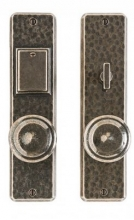 Rocky Mountain Hardware - Hammered Entry Set - 2 1/2