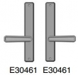 Rocky Mountain Hardware<br />E30461 / E30461 - Passage Trim  1 3/4&quot; x 11&quot; hammered Escutcheon  american cylinder