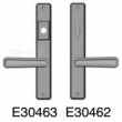 Rocky Mountain Hardware<br />E30463 / E30462 - Entry Trim 1 3/4&quot; x 11&quot; hammered Escutcheon American cylinder