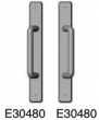 Rocky Mountain Hardware<br />E30480 / E30480 - 1 3/4&quot; x 13&quot; hammered escutcheon Full Dummy