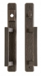 Rocky Mountain Hardware<br />E30484/E30483 - Hammered Entry Sliding Door Set - 1 3/4&quot; x 13&quot;