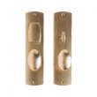 Rocky Mountain Hardware<br />E30510/E30509 - Convex Entry Dead Bolt/ Spring Latch Set - 2 1/2&quot; x 10&quot;