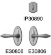 Rocky Mountain Hardware<br />E30806/E30806/IP30890 - Patio Dead Bolt/Spring Latch 2 1/2&quot; x 5 1/2&quot;