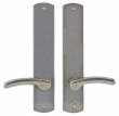 Rocky Mountain Hardware<br />E556/E556 - 2.5&quot; X 13&quot; CURVED ESCUTCHEONS - FULL DUMMY