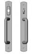 Rocky Mountain Hardware<br />E563/E562 - 1 3/4&quot; x 13&quot; American Cylinder Curved Sliding Door Trim - Entry