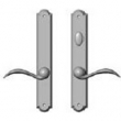 Rocky Mountain Hardware<br />E741/E742 - 1 3/4&quot; x 11&quot; AMERICAN CYLINDER ARCHED MULTI-POINT SET - PATIO