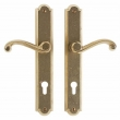 Rocky Mountain Hardware<br />E748/E748 - 1 3/4&quot; x 11&quot; PROFILE CYLINDER ARCHED MULTI-POINT SET - ENTRY