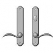 Rocky Mountain Hardware<br />E776/E777 - 1 3/4&quot; x 10&quot; AMERICAN CYLINDER ARCHED MULTI-POINT SET - PATIO